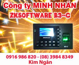 Máy chấm công ZK B3 giá rẻ+khuyến mãi đặc biệt tại Ninh Thuận. Lh:0916986820 Ngân