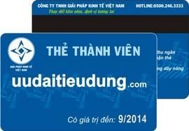 In thẻ membership, thẻ thành viên đẹp, giá rẻ nhất LH Ms Hạn 0907077269