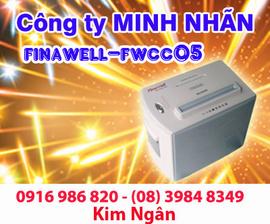 Máy hủy giấy FINAL WELL FWCC05 giá rẻ+giao hàng tại Bạc Liêu. Lh:0916986820 Ngân