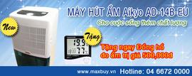 Mua máy hút ẩm tặng đồng hồ đo ẩm chỉ có tại Maxbuy