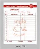 Tp. Hà Nội: In Order ; in Order 2 liên , 3 liên ; in Order giá rẻ/ 0908 562. 968 CL1222811