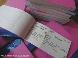 Vé xe các loại In giá rẻ đặc biệt tại Hà Nội --- 0908 562. 968