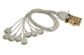 Card chuyển đổi PCI Express to 8 cổng COM hàng chất lượng cao giá tốt
