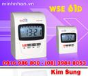 Tp. Hồ Chí Minh: Máy chấm công bấm thẻ giấy wse 61d, nhỏ gọn nhất, giá rẻ, lh kim sung CL1225109