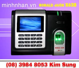 Máy chấm công hitech x628-c, dùng vân tay giá rẻ, lh kim sung: 0916 986 800