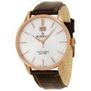 Tp. Hồ Chí Minh: Đồng hồ nam Edox Les Vauberts Big Date Rose Gold PVD Mens Watch 63001 37R AIR CL1236047