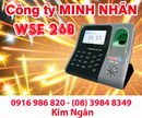 Lâm Đồng: Máy chấm công WSE 268 giá siêu rẻ, lắp đặt tại Lâm Đồng. Lh:0916986820 Ms. Ngân CL1231681