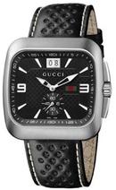 Tp. Hồ Chí Minh: Đồng hồ nam cao cấp Gucci G Coupe Steel Bracelet Black Dial Mens Watch YA131302 CL1236047