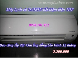 Máy lạnh cũ Daikin 1hp