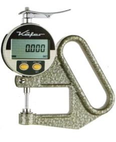 Thiết bị đo độ dày giấy, vải, nilon - kafer - Đức