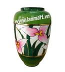 Tp. Hà Nội: Lọ sơn mài hình hoa lan CL1217989