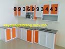 Tp. Hà Nội: 200 mẫu tủ bếp nhôm kính sơn tĩnh điện , tủ bếp nhôm kính vân gỗ giá chỉ từ 700k CL1253854