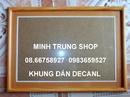 Tp. Hồ Chí Minh: Bán khung giấy khen giá rẻ CL1109908