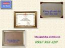 Tp. Hồ Chí Minh: Khung hình giấy khen, chứng nhận CL1267584P10