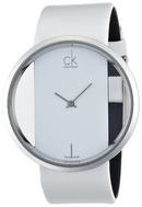 Tp. Hồ Chí Minh: Đồng hồ nữ Calvin Klein Quartz, Genuine White Leather Strap K9423101 CL1252126