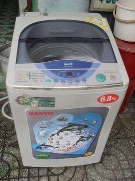 BÁN máy giặt cũ 6kg 04 6680 3721
