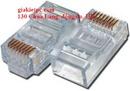 Tp. Hà Nội: Đầu bấm mạng cat6 FTP, UTP, hạt mạng RJ45 cat6e AMP CL1171918P8