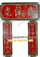 Tp. Hà Nội: Bộ Hoành Phi câu đối, bộ cuốn thư câu đối, cuon thu dong, cau doi dong, câu đối CL1258335