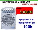 Tp. Hà Nội: Máy trợ giảng v-plus chính hãng, thiết bị âm thanh trợ giảng cho giáo viên CL1348927P9
