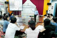 Khai giảng lớp học quản lý chuyền may sản xuất chuyên nghiệp