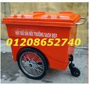 Tp. Hồ Chí Minh: Xe đẩy rác, xe gom rác, thùng rác 660L, thùng rác giá rẻ CL1262879