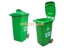 Bình Thuận: Thùng rác 50 lít – 4 bánh xe giá 250K CL1316806