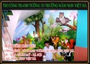 Tp. Hà Nội: tranh ve tuong truong mam non 3d hot CL1276466