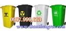 Tp. Hà Nội: Bán thùng rác nhựa 240 lít có 2 bánh xe - thùng rác công cộng CL1271517