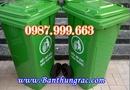 Tp. Hà Nội: Bán thùng rác, Thùng rác nhựa 120 lít, thùng rác công cộng CL1271517