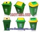 Tp. Hà Nội: Bán Thùng rác nhựa Composite 90 lít đặt cố định CL1197664