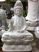 Tp. Đà Nẵng: Tượng Phật Mẹ Quan âm ngồi cao 1m CL1323473