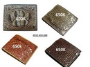 Tp. Hà Nội: Dây lưng ví da cá sấu giá chỉ từ 650k CL1583672