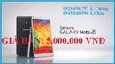 Tp. Hồ Chí Minh: galaxy note 3 xách tay mới về nguyên hộp giá 3 tr CL1284407