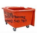 Tp. Hồ Chí Minh: Thùng rác 1000L, thùng rác composite 1000L 4 bánh xe CL1292445