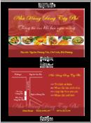 Tp. Hà Nội: In menu, order, card, bao đũa, bao tăm, bao thìa, lót bàn, lót cốc cho nhà hang CL1293795