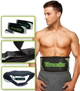 Đai massage bụng, eo, đùi, Máy massage quấn rung giảm mỡ bụng, Máy giảm mỡ bụng