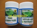 Tp. Hồ Chí Minh: Tinh lá SEN TƯƠI- Giúp giảm mỡ máu, cholesterol, an thần-giá tốt CL1301093