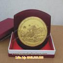 Tp. Hà Nội: đĩa lưu niệm, đĩa đồng, quà tặng mỹ nghệ, dia dong, dia bac, dia duc, dia an mon CL1309832