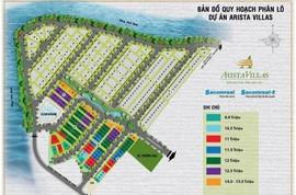 Mua đất nền, Ưu đãi trúng Cano tại Home Resort Arista Villas giá rẻ 1. 5 tỷ