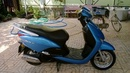 Tp. Hồ Chí Minh: Mình cần bán xe honda FI, scr110, màu xanh CL1306491