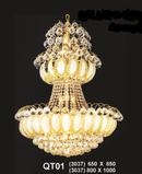 Bình Dương: Bán đèn trang trí giá gốc, đèn chùm giá rẻ, đèn mâm led đổi màu CL1309675