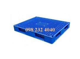 Pallet nhựa xuất khẩu , pallet kê hàng 60 x100x10 cm