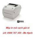 Tp. Hà Nội: Đại lý bán máy in mã vạch Zebra chính hãng giá rẻ CL1318769
