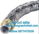 Tp. Hồ Chí Minh: ống gió mềm cách nhiệt len thủy tinh 25mm CL1700846
