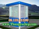 Tp. Hà Nội: Sản xuất - Bán bốt gác - chòi canh - vọng gác - Cabin bảo vệ bằng thép CL1271517