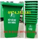 Tp. Hà Nội: Cung cấp thung rac cong cong, thùng rác 100l, thùng rác 120l, 240 GIÁ RẺ RSCL1017202