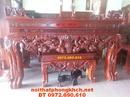 Bắc Ninh: Bàn thờ chạm mai , Sập thờ MSST22 CL1317491P7