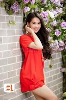Tp. Hồ Chí Minh: Đầm suông chân váy đính nơ trẻ trung CL1363201P11