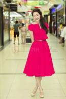 Tp. Hồ Chí Minh: Đầm Vintage cổ thắt nơ duyên dáng CL1363201P11