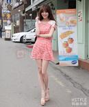 Tp. Hồ Chí Minh: Đầm dạo phố sọc ngang phối ren CL1363201P11